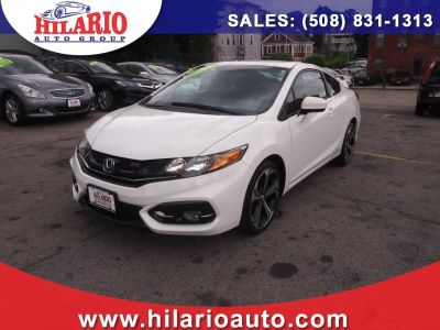 2015 Honda CIVIC COUPE 2dr Man Si (Taffeta White)
