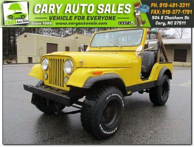 1980 Jeep CJ5 (YELLOW)