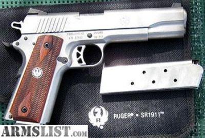For Sale: Ruger SR1911 sale or trade