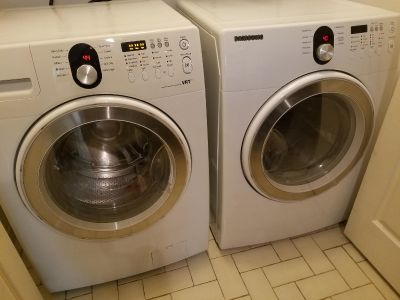 Samsung WASHER and Electric Dryer