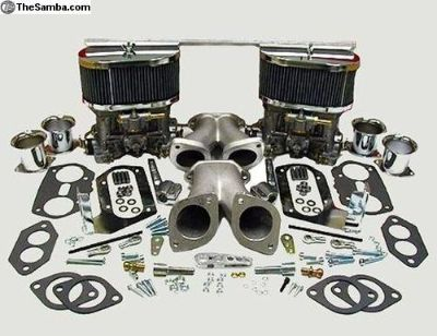 Dual Weber 44 IDF Carburetors kit for Type 1