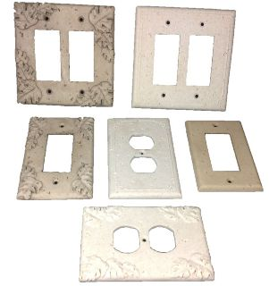 Travertine Decorative Electric Cover Plates