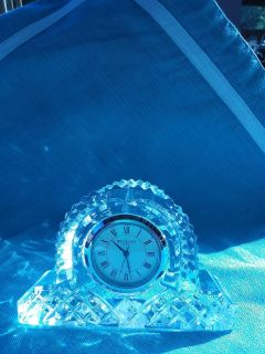 Mantle Style Waterford Crystal Clock
