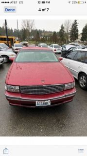 1994 Cadillac DeVille Base 4dr Sedan