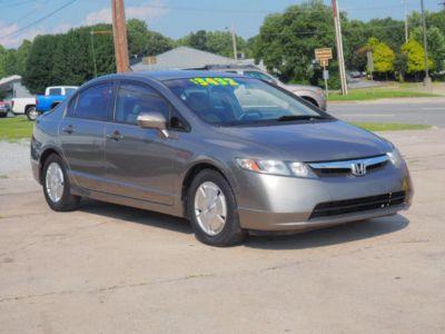2007 Honda Civic Hybrid Hybrid (Galaxy Gray Metallic)
