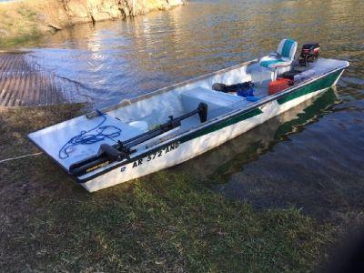 For Sale 1997 supreme 16/48 River Boat 15 hp Merc
