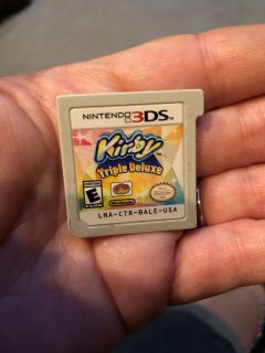 Kirby Triple Deluxe 3DS game