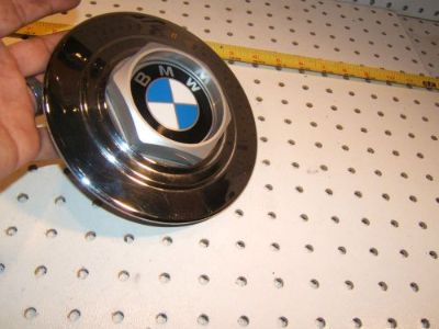Purchase BMW wheel CHROME metal/plastic center OEM 1 Cover/Cap with BMW logo,36.131180293 motorcycle in Rocklin, California, United States, for US $45.00