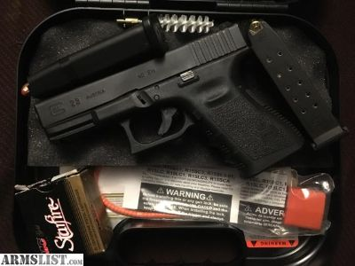 For Sale/Trade: Glock 23 with night sights