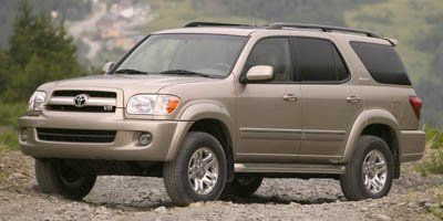 2007 Toyota Sequoia SR5 (Timberland Mica Green)