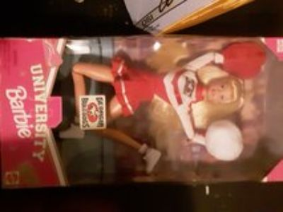 1996 collectors university barbie