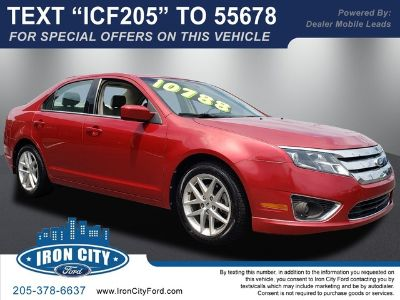 2011 Ford Fusion SEL (Red Candy Metallic Tinted Clea)