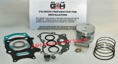 Sell Honda TRX 250 Recon & 250EX Engine Motor Top End Rebuild Kit & Machining Service motorcycle in Somerville, Tennessee, United States, for US $174.90