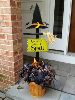Halloween Decoration - Come in for a Spell
