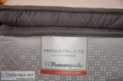Like New Sealy Fergus Falls Ti Firm Euro Pillowtop