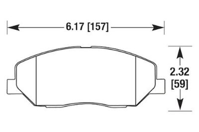Sell HAWK HB635F.645 - 09-10 fits Hyundai Genesis Black Ferro-Carbon Front Brake Pads motorcycle in Chino, California, US, for US $91.52
