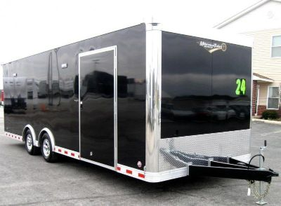 *2019 24' Millennium Extreme Enclosed Race Trailer