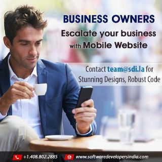 Develop a Mobile Web platform for your SMB today!