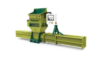 Efficient EPS recycling machine of GREENMAX APOLO C200 compactor