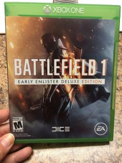 Xbox One Battlefield 1 Early Insider Deluxe Edition