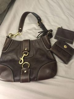 Coach bag and 2 wallets