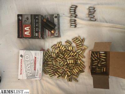 For Sale: 9mm & 40 & 12 gauge