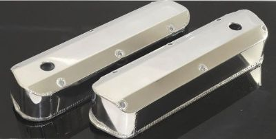 Purchase SBF FORD 289 302 FABRICATED TALL ALUMINUM POLISHED VALVE COVERS 6343-P motorcycle in Kingsport, Tennessee, United States, for US $69.50