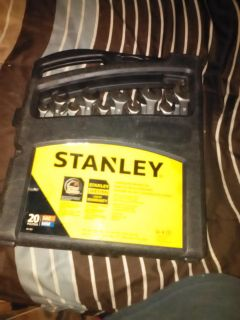 Stanley 20pc. Metric & Sae Combination Wrench Set