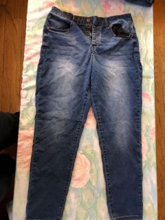 Juniors stretchy jeans