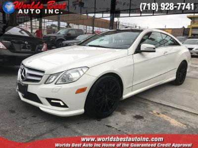 2010 Mercedes-Benz E-Class E550 (Diamond White Metallic)