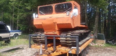 1969 Thiokol Snowcat Model 603 in running condition