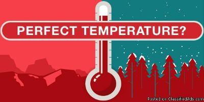 perfect temperature heating & cooling