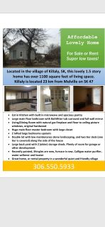 Home for Sale or Rent - Killaly SK