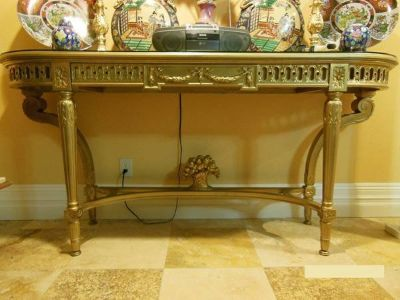 Antique French Buffet Server/Entry Table