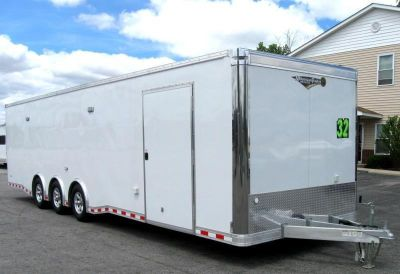 BLOWOUT on ALL 32' All Aluminum Trailers in Stock