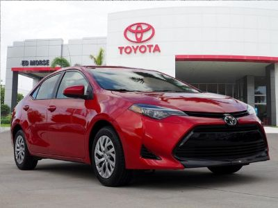2018 Toyota Corolla L (red)