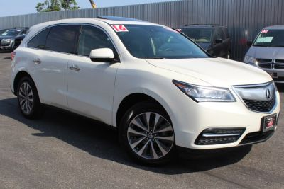 2016 Acura MDX SH-AWD 4dr w/Tech/AcuraWatch P (White Diamond Pearl)