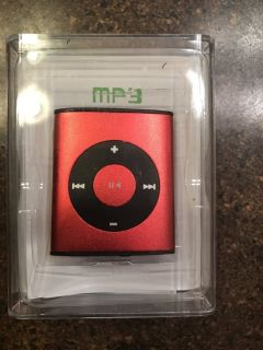 NIB Red MP3 Player