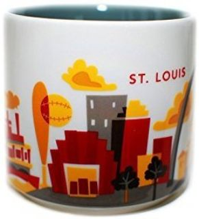 NEW!! Starbucks You Are Here St. Louis Mug 14 Oz.