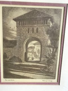 2 antique stanford university pictures by pedro j lemos