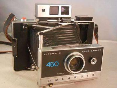 Vintage Polaroid 450 Automatic Land Camera
