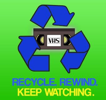 Free Book VHS Records Pick Up for Recyling