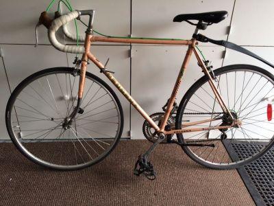 Vintage Peugeot road bicycle