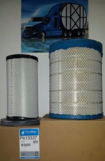 International Prostar Air Filter Inner&Outer W/MaxForce Engine
