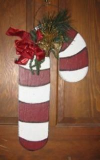 Hanging Candy Cane