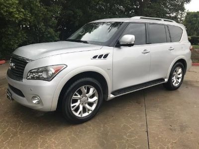 2014 Infiniti QX80 Base (Liquid Platinum)
