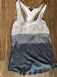 Express Tank with Sparkles! So Cute! Great Condition! SZ S