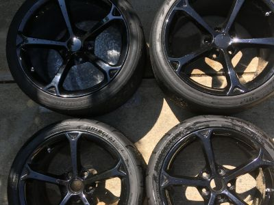 Corvette Track Wheels & Tires