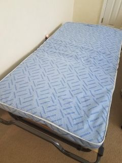 Twin size roll-away bed