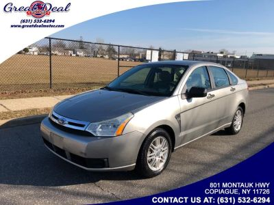 2008 Ford Focus SE (Gray)